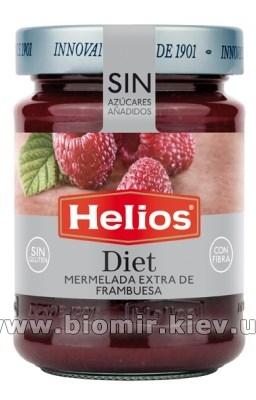 Джем с малины без сахара Helios Diet 280 грамм