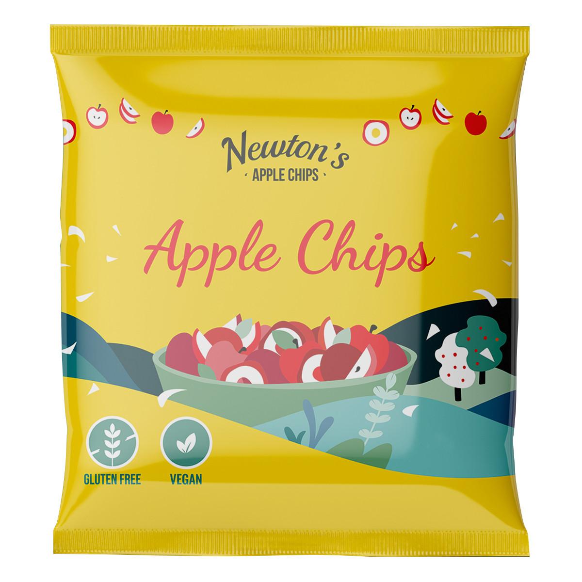 Яблочные чипсы Newton's