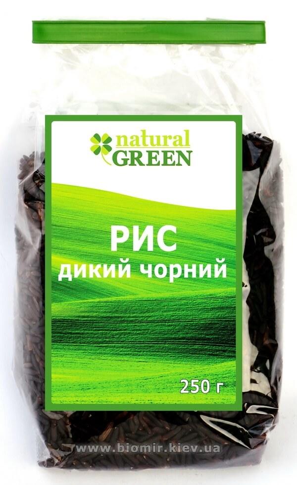 Рис дикий черный, Natural Green, 250 г
