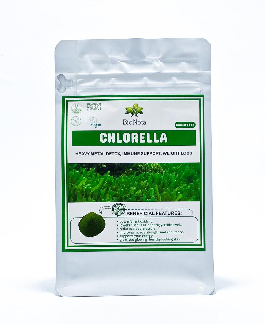 Хлорелла органическая