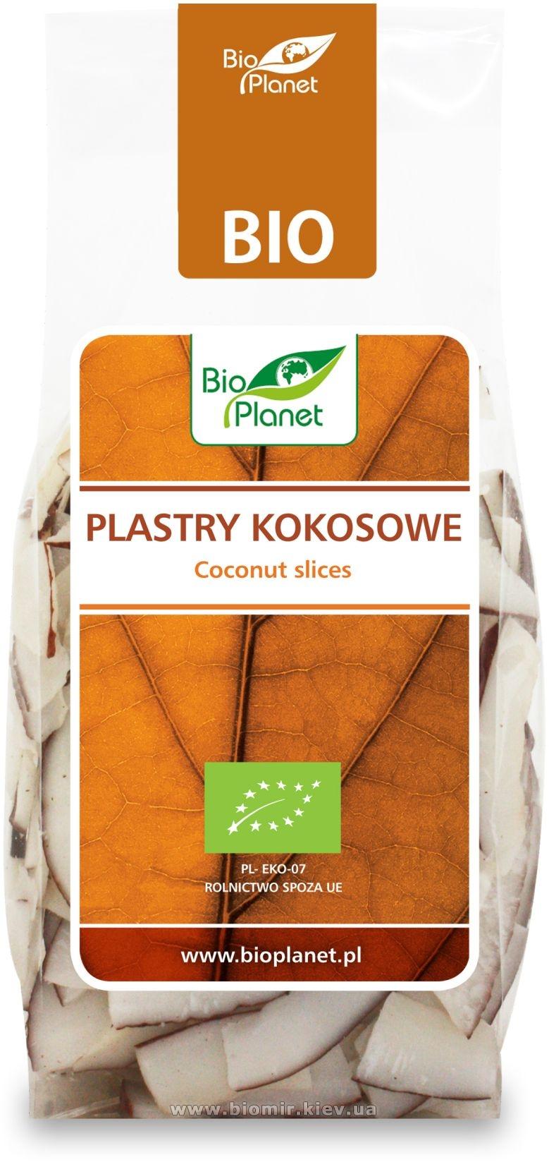 Ломтики кокоса сушеные органические