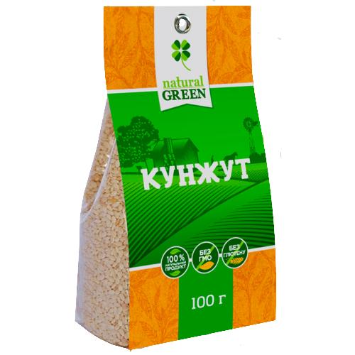 Кунжут, 100 г, NATURAL GREEN