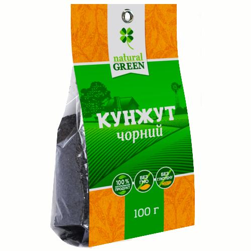 Кунжут черный NATURAL GREEN