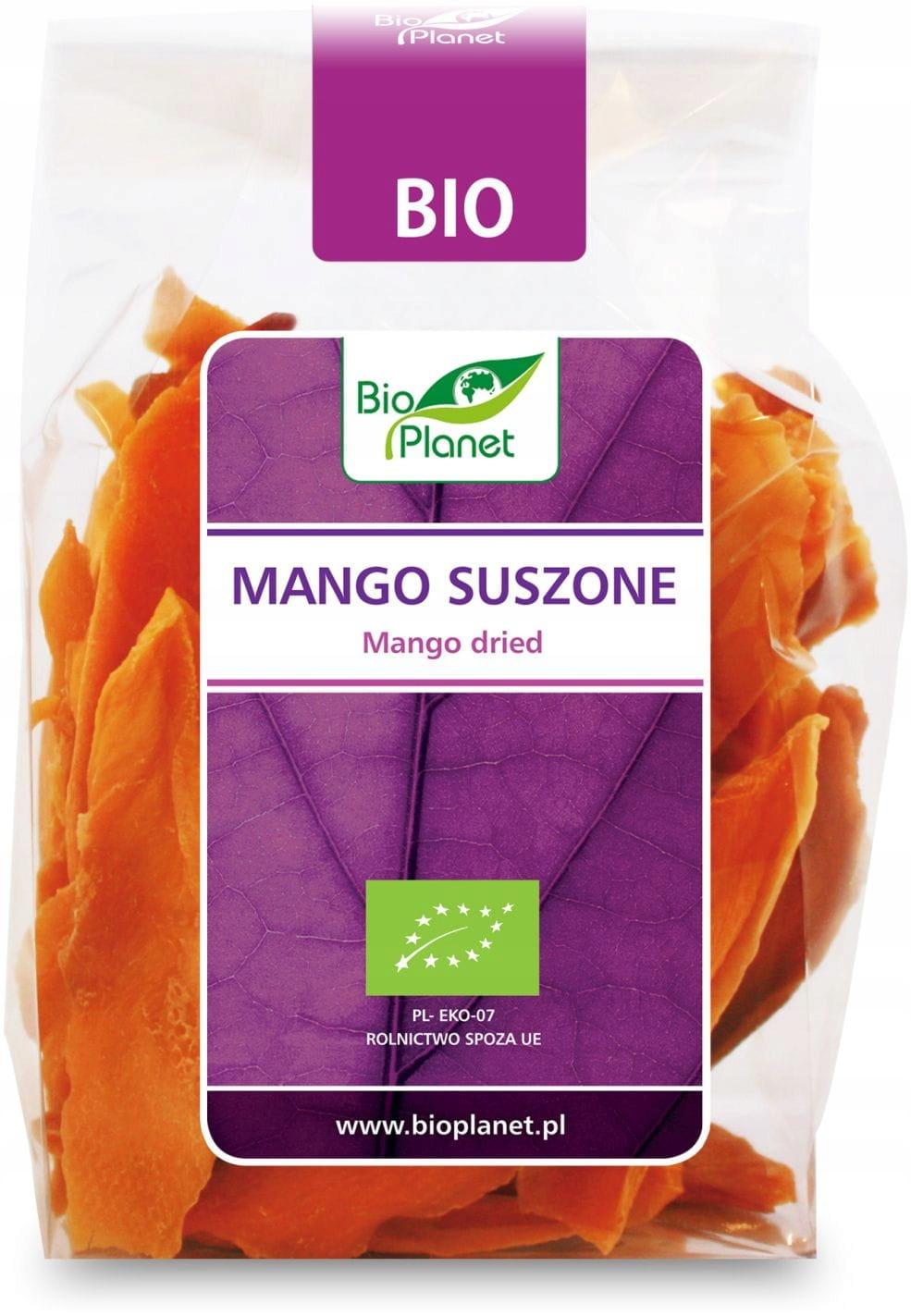 Манго сушеное органическое