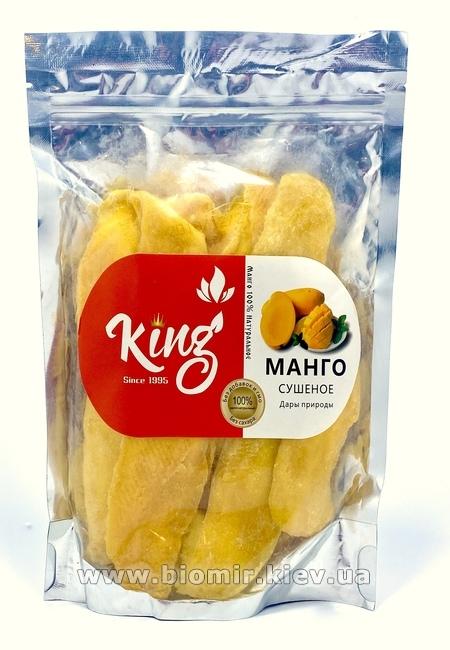 Манго сушеное без сахара King