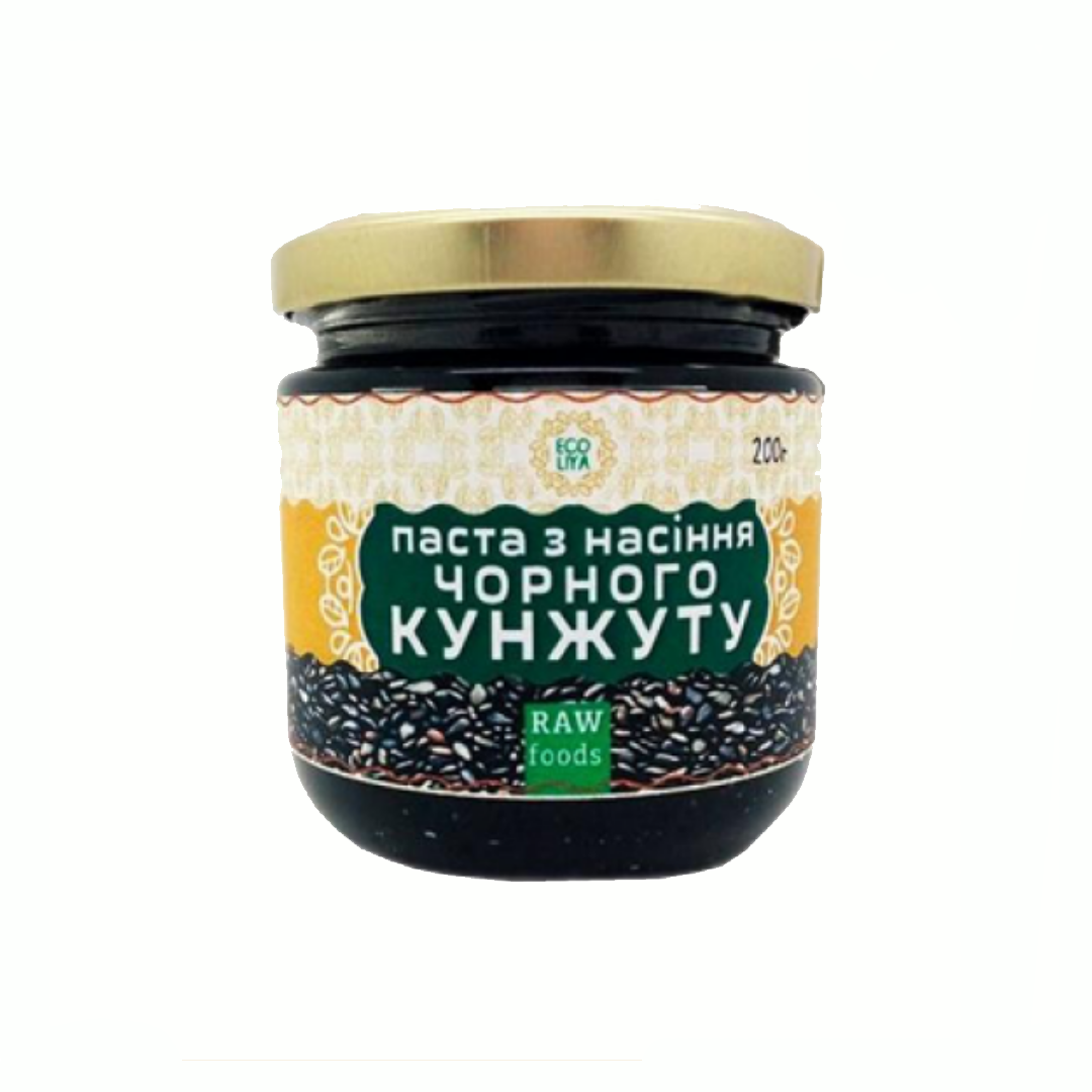 Паста из семян черного кунжута Ekoliya