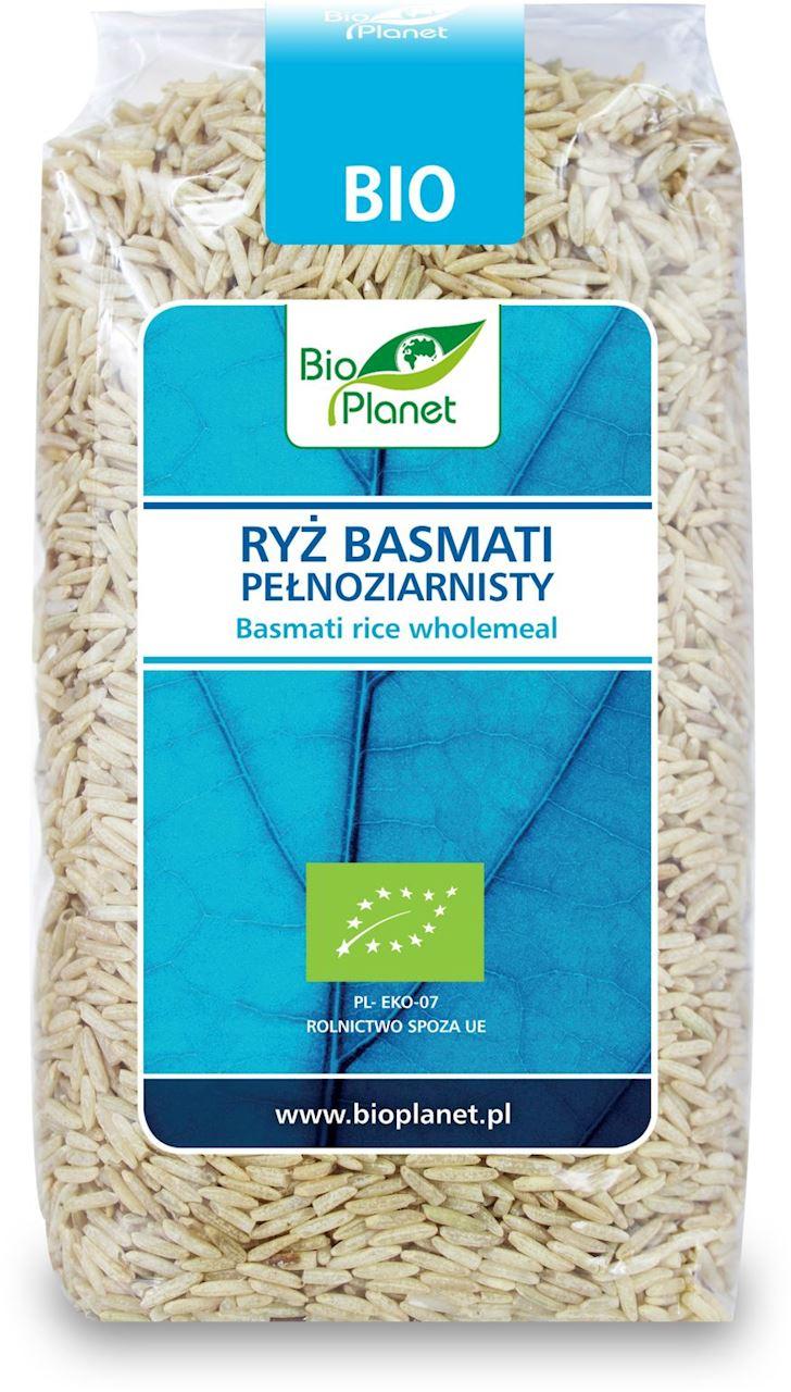 Рис басмати цельнозерновой органический