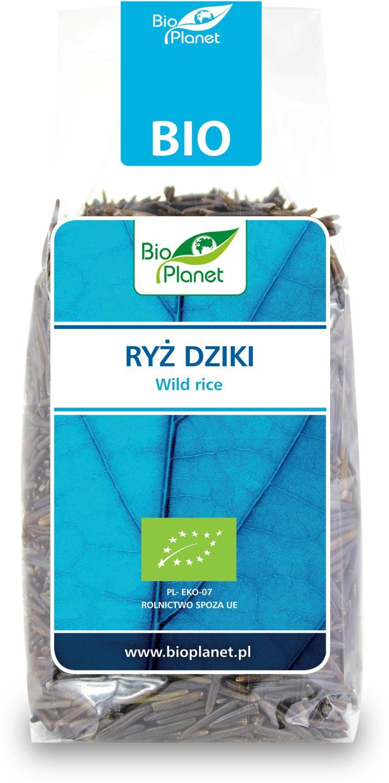 Рис дикий черный органический