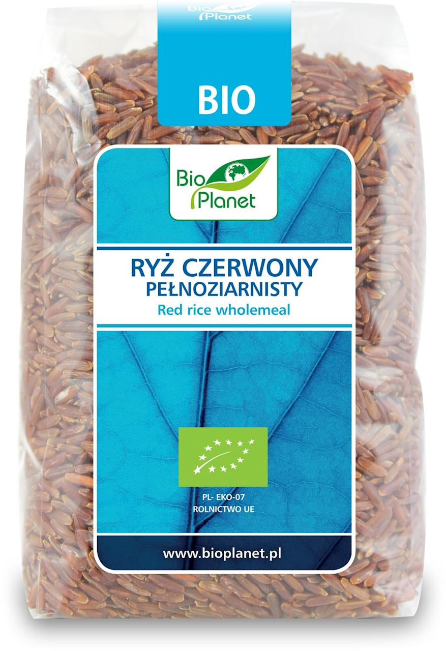 Рис красный цельнозерновой органический