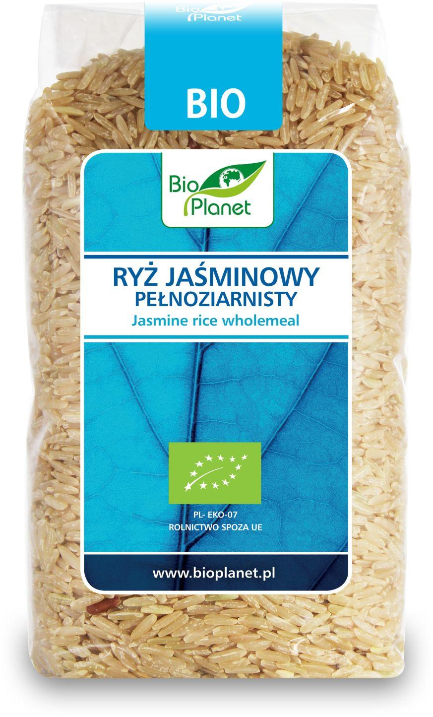 Рис жасмин цельнозерновой